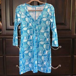 Lilly Pulitzer Juliet Pima Cotten T-Shirt Dress.